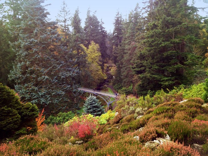 cragsidegarden Northumberland – Cragside, Walking In History