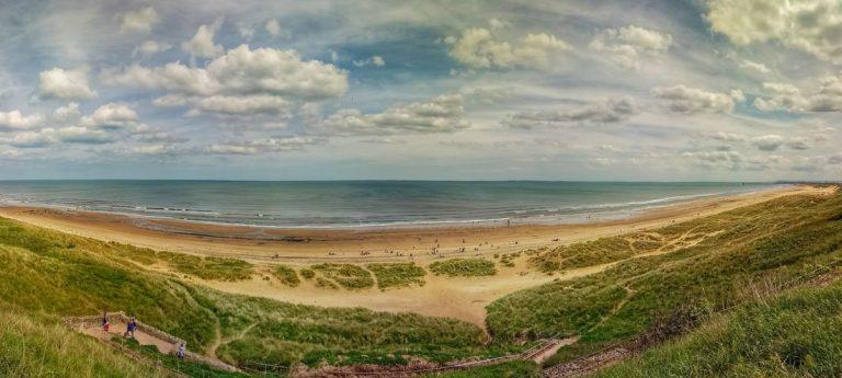 Walks Along Crimdon Beach, Durham