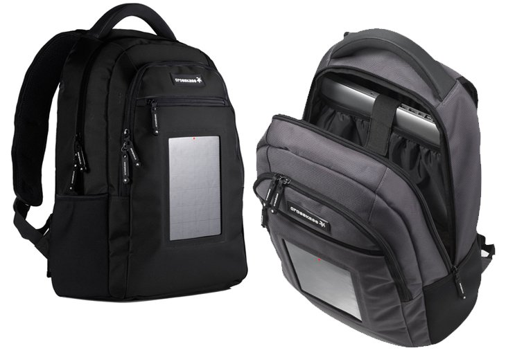 crosskase Charge Your Digital Life With Your Backpack