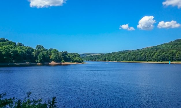 Damflask Reservoir in the Loxley Valley, South Yorkshire
