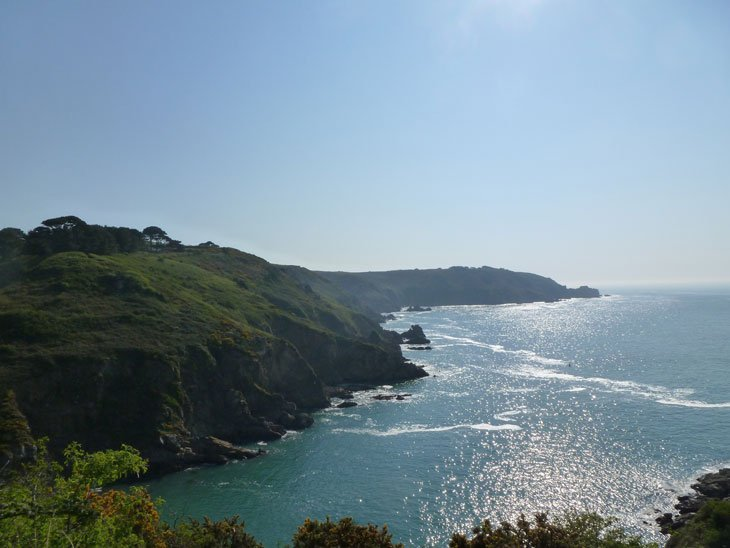 Guernsey - Sunrise, Clifftop Trek and Foraging