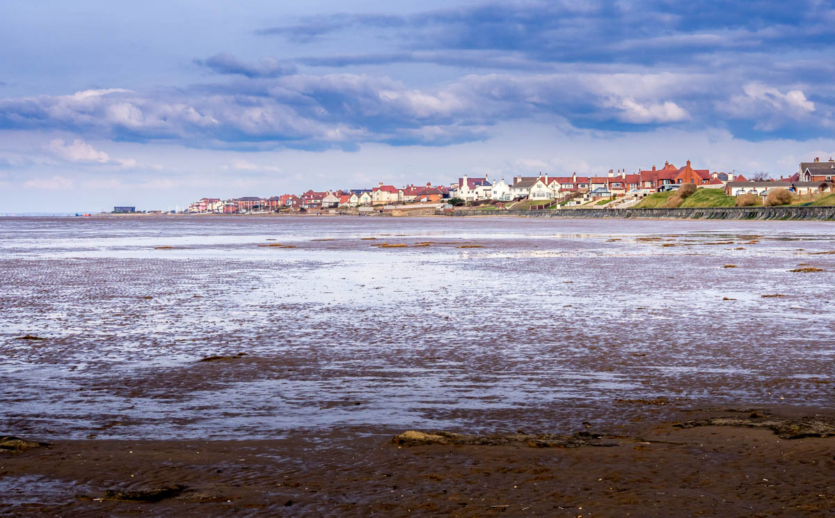 Hoylake from the beach
