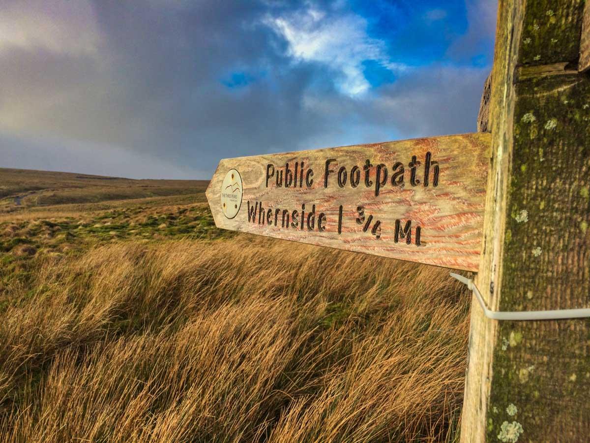 Whernside footpath
