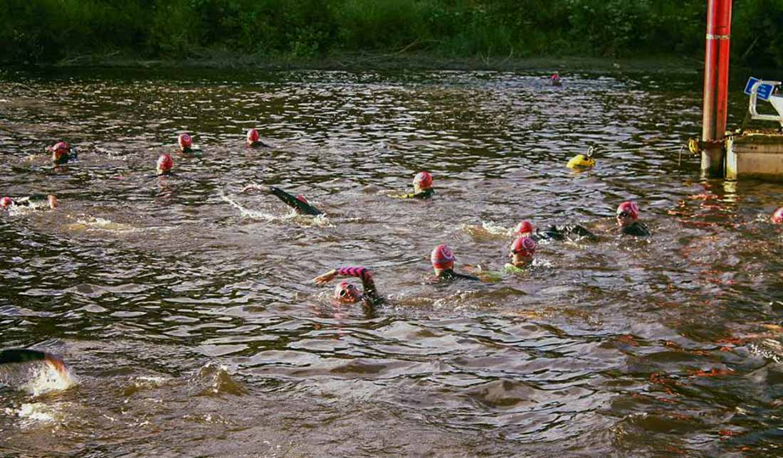 The Deva Triathlon 2017 - Chester