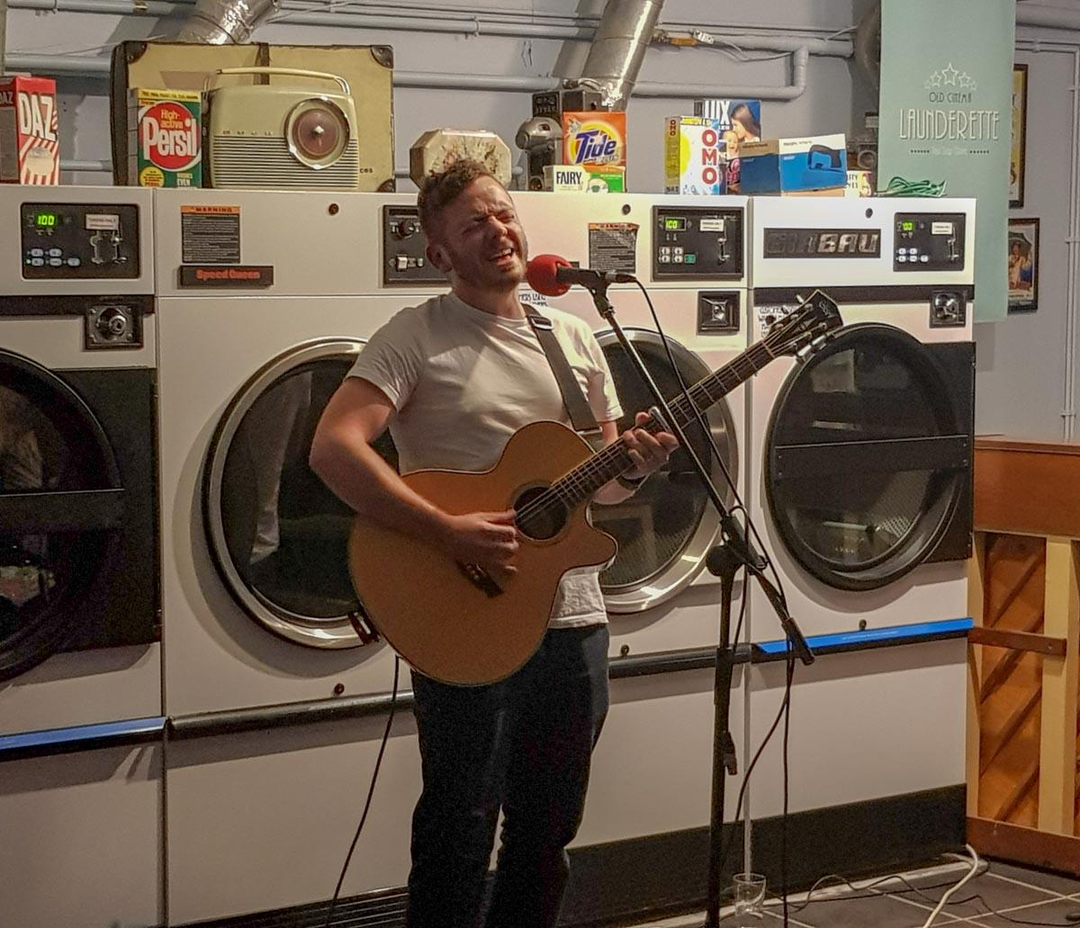 durham-singing Launderette Sessions, Durham - A Unique Gig Venue