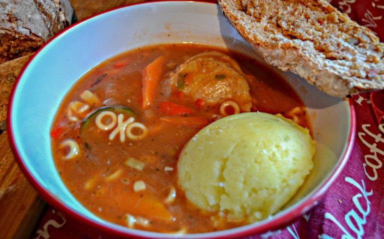 Mum's Special Farmhouse Stew, a Big Hug in a Bowl