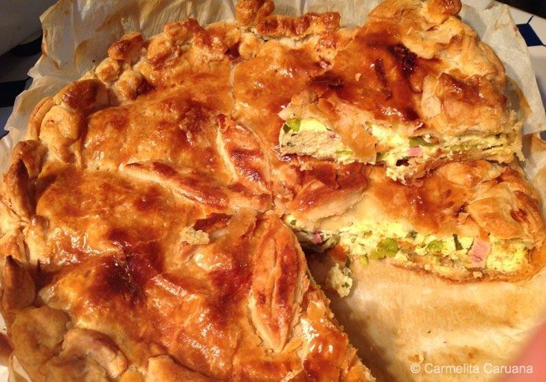 Torta ta L-Irkotta (Maltese Ricotta Pie)