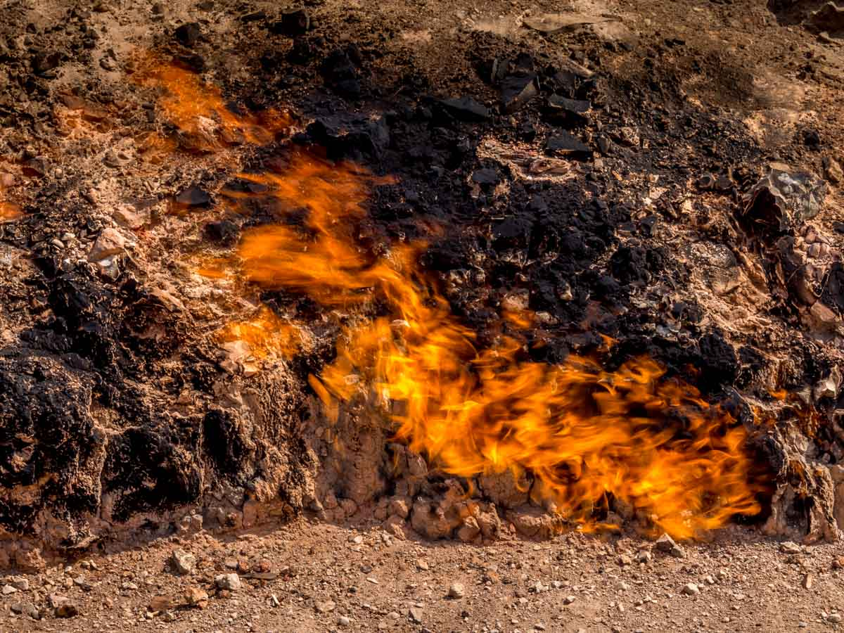 Yanar Dag, The Burning Mountain of Azerbaijan