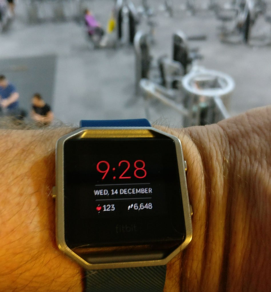 Fitbit Blaze - Motivational and Practical