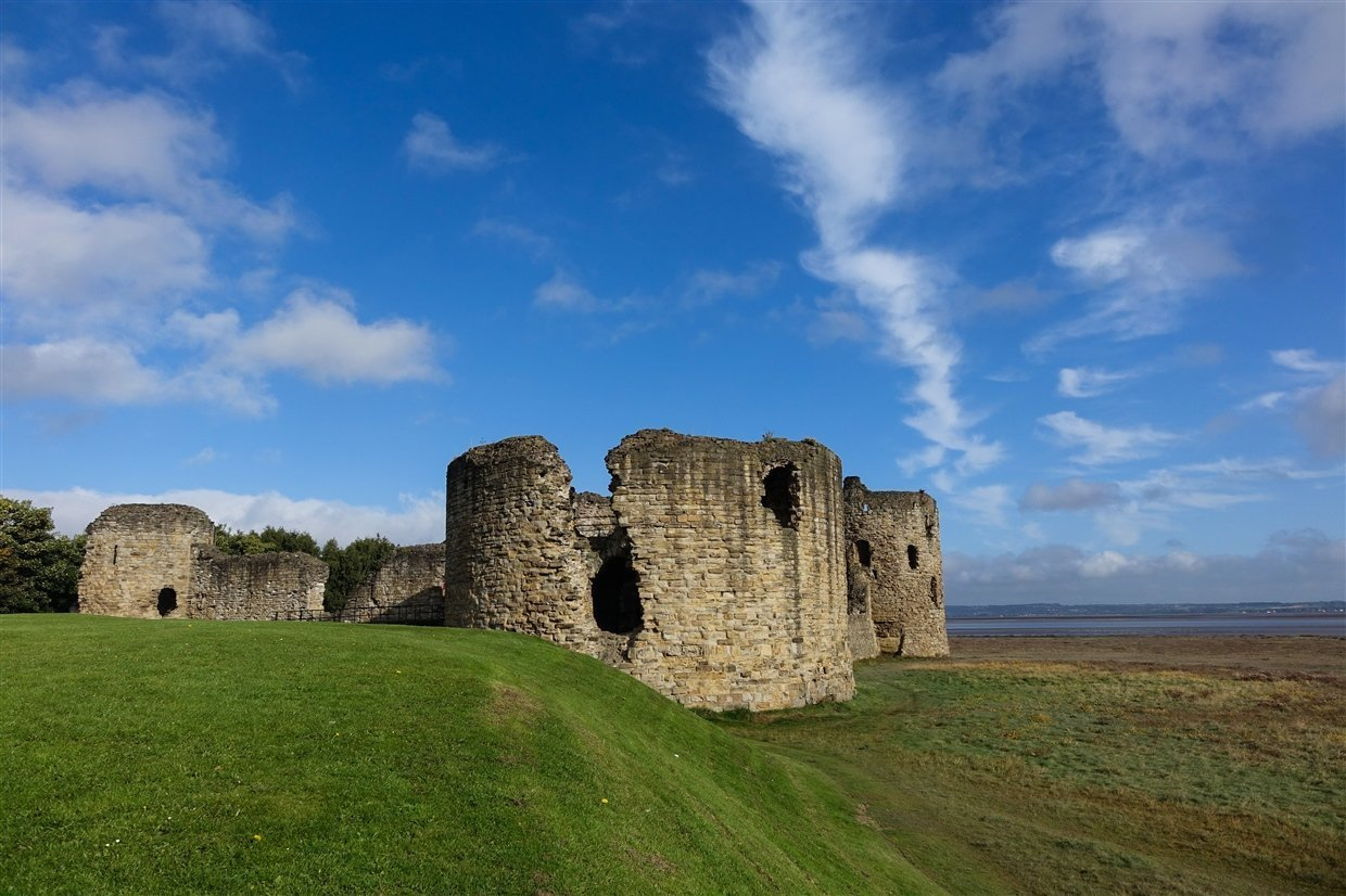 Flint Castle – Welsh Fortress of The Dee Estuary