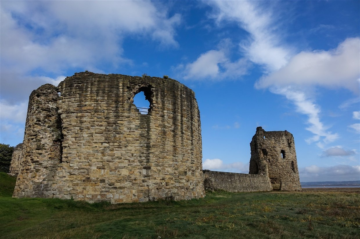 flint-LR-3-cadw Flint Castle – Welsh Fortress of The Dee Estuary