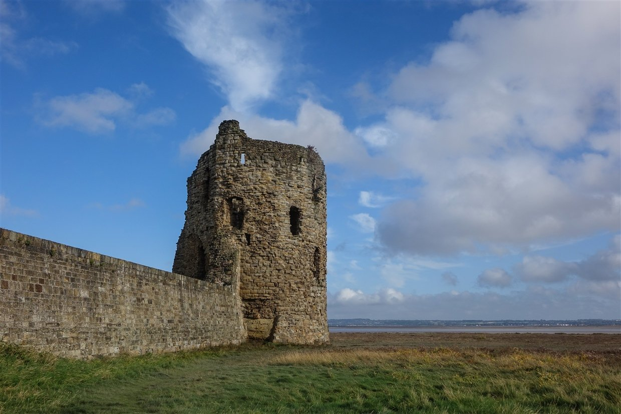flint-LR-4-cadw Flint Castle – Welsh Fortress of The Dee Estuary