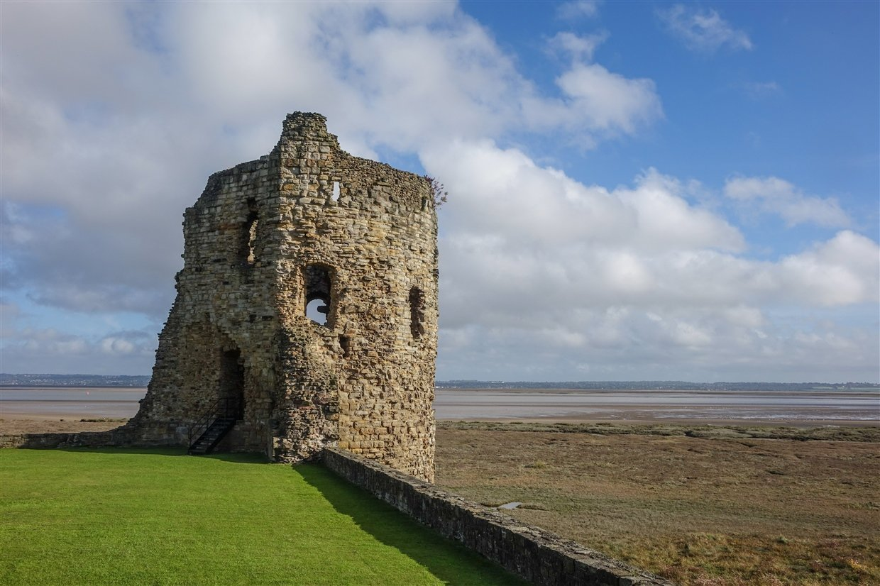 flint-LR-7-cadw Flint Castle – Welsh Fortress of The Dee Estuary