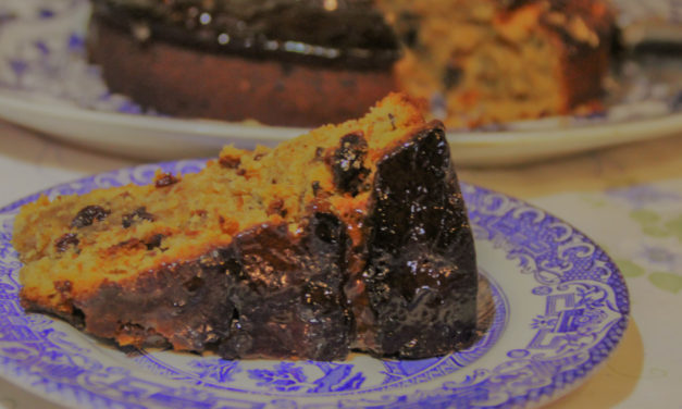 All Gone Cake – An Easy, Boozy Fruit Cake