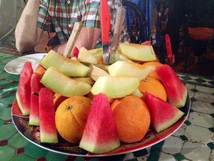 Last day in Morocco… Time for a little fruit :)