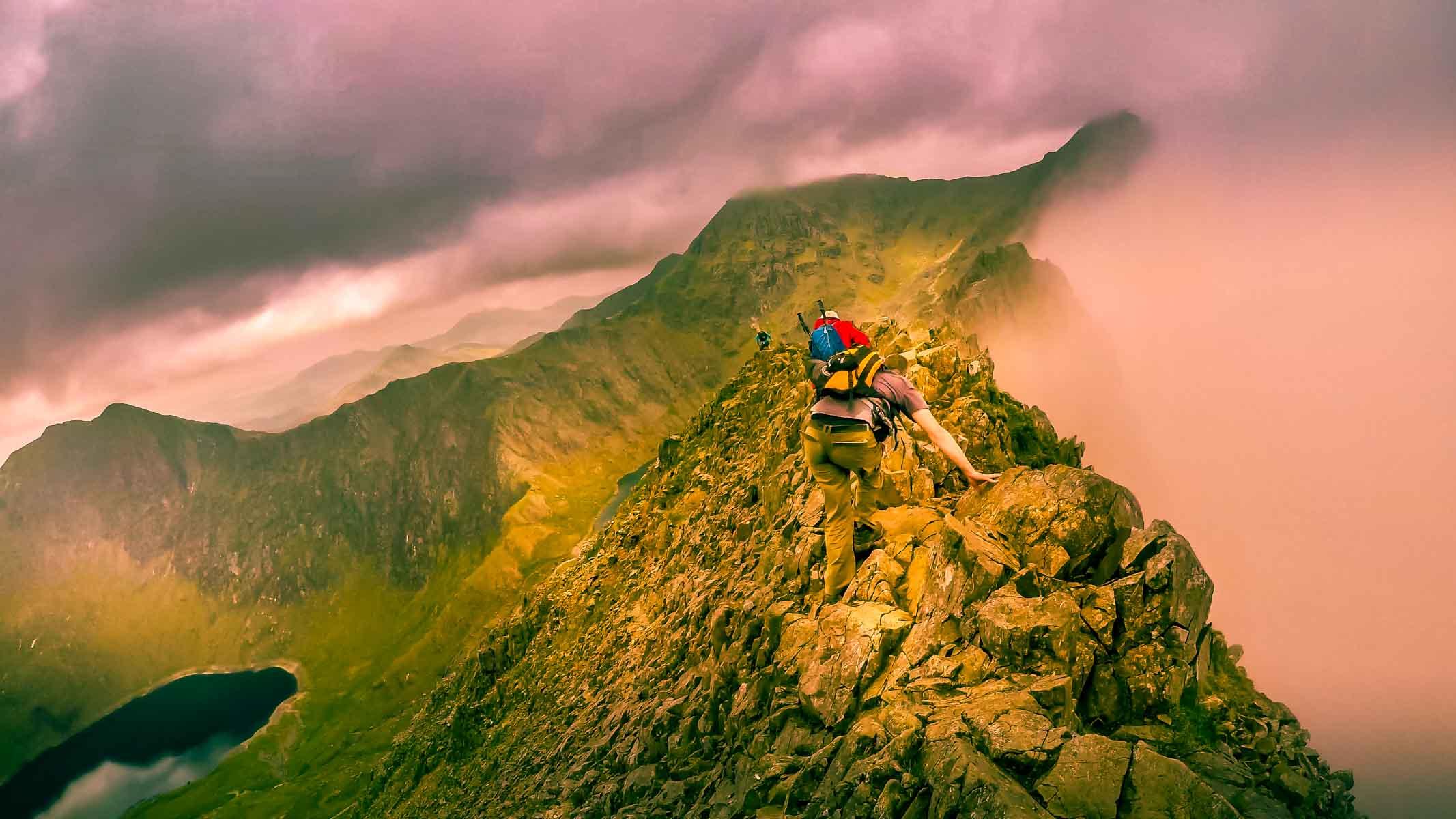 Crib Goch - One of Britain's Greatest Ridges