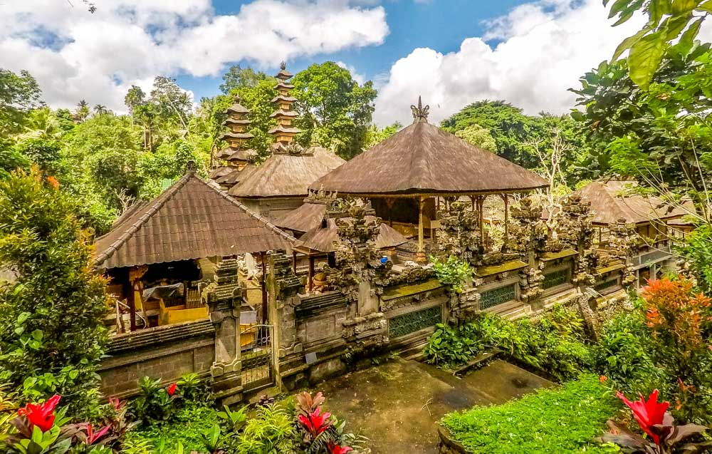 Lokha Ubud hotel in the jungle
