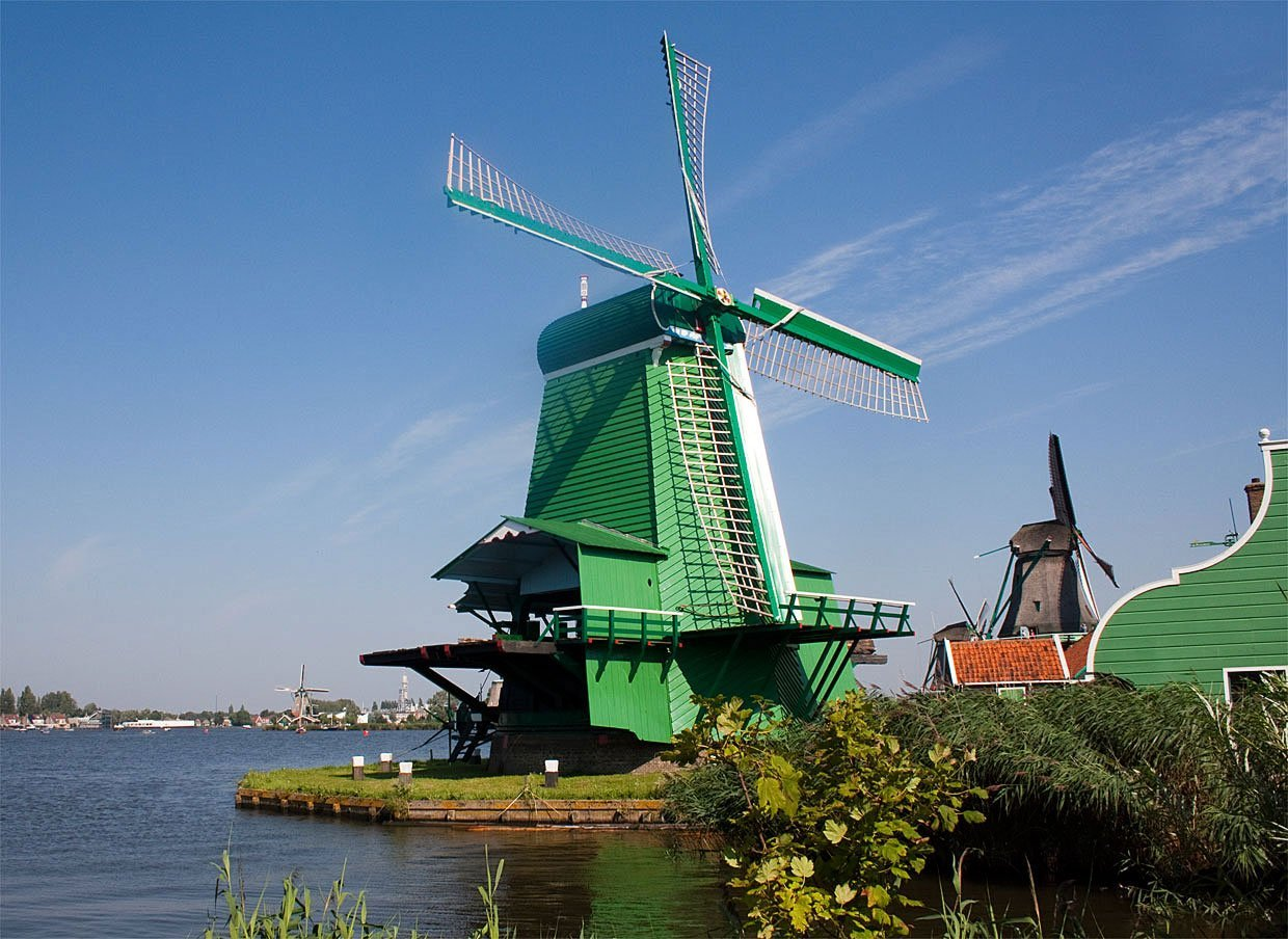 The Windmills of the Zaanse Schans