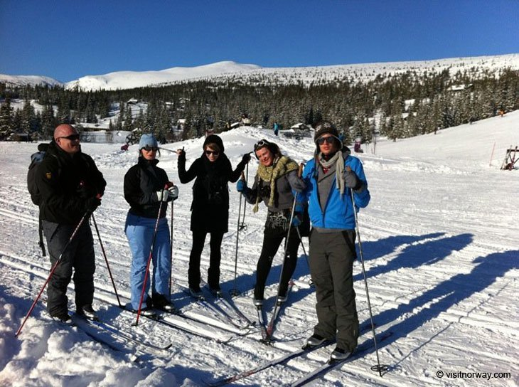 group Norway – Norefjell, Skiing and Comfort