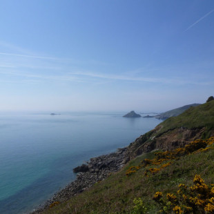 Guernsey Day 2 – Bluebells, Sunset and Herm Island