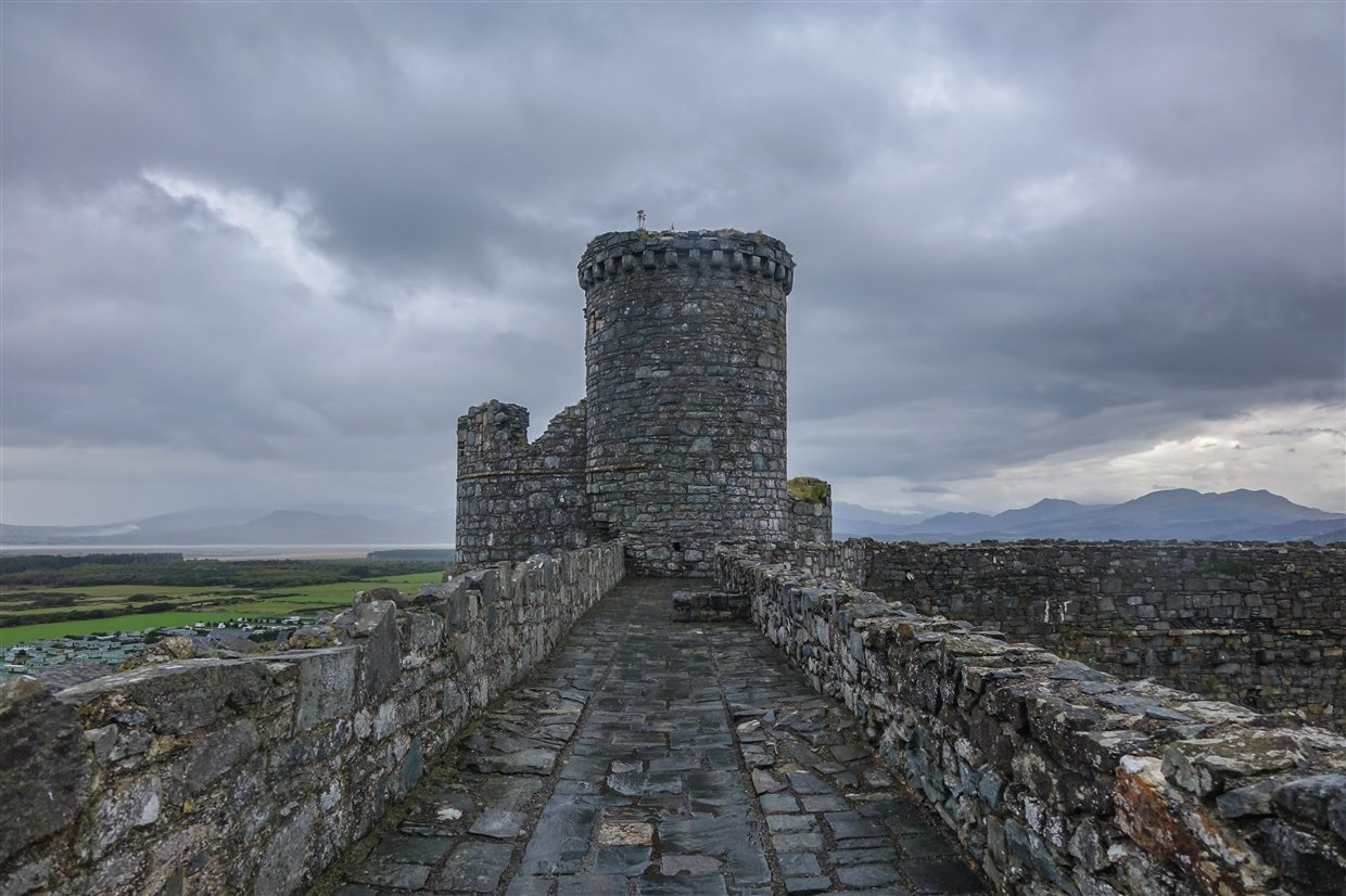 harlech-castle-6-wales Harlech Castle – A Spectacular Welsh Fortress