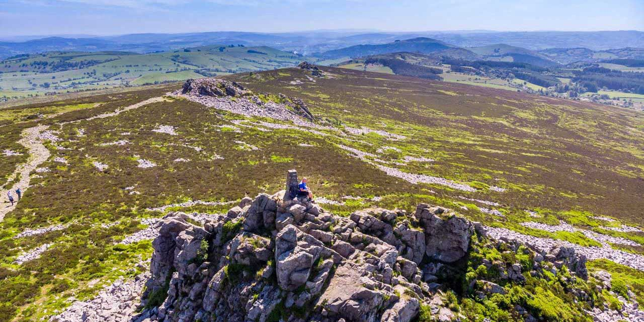 Mitchell's Fold Stone Circle To The Stiperstones – A Shropshire Walk