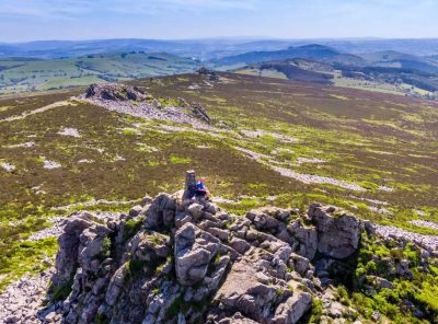 Mitchell's Fold Stone Circle To The Stiperstones - A Shropshire Walk