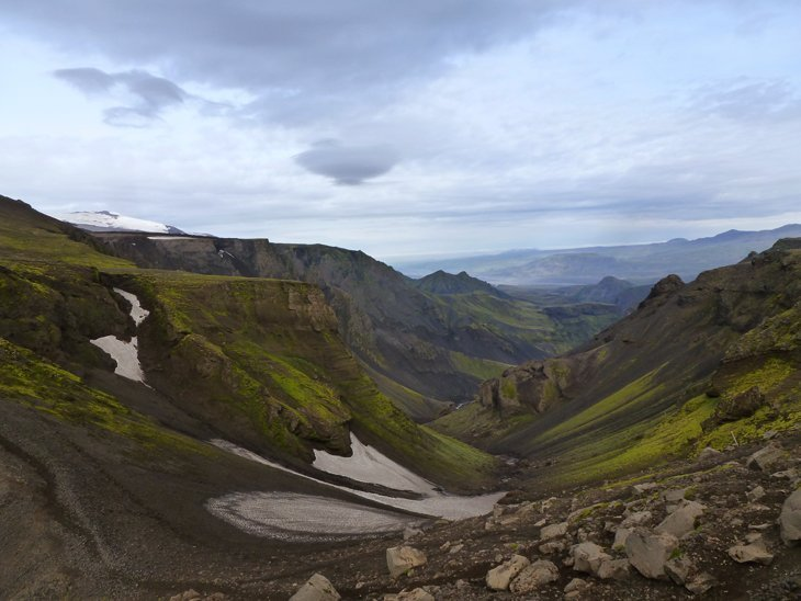 Iceland – A Wander Up To the Eruption Site of Eyjafjallajökull 1