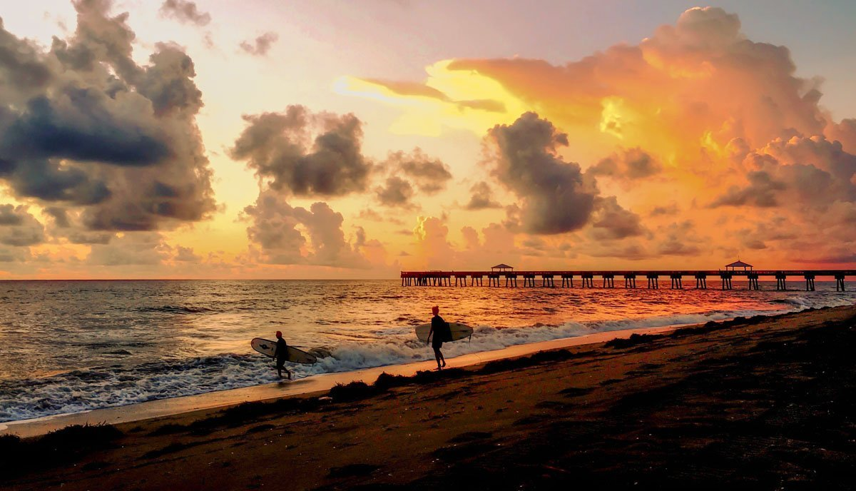 Juno Beach Pier, Florida: Colours and Scenes 1