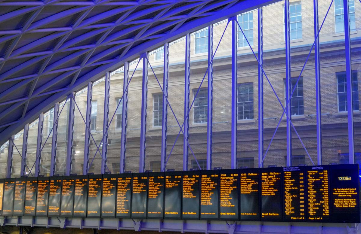 kings-departure-board-2 King's Cross Station – Entry to the Hogwarts Express
