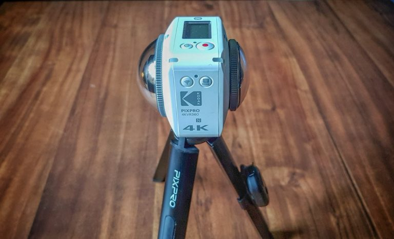 Kodak Pixpro 4KVR360 – A World in 360 Degrees