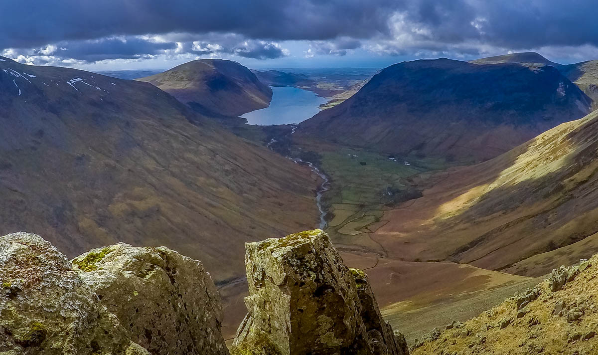 wasdale from above