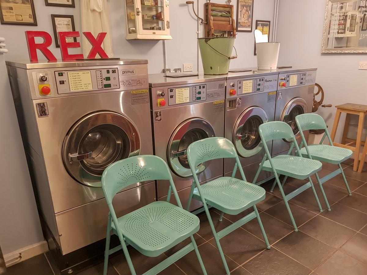 launderette-seating Launderette Sessions, Durham - A Unique Gig Venue