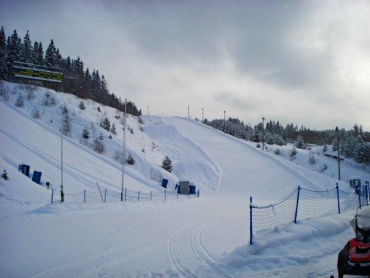 Norway Lillehammer Tobogganing
