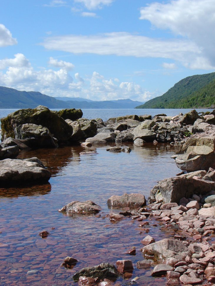 lochness2 Beautiful Britain – A Loch, A Jurassic Coast and A Welsh Isle