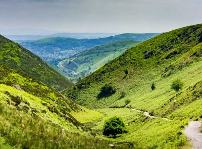 Walk The Long Mynd Valleys To Pole Bank - Shropshire