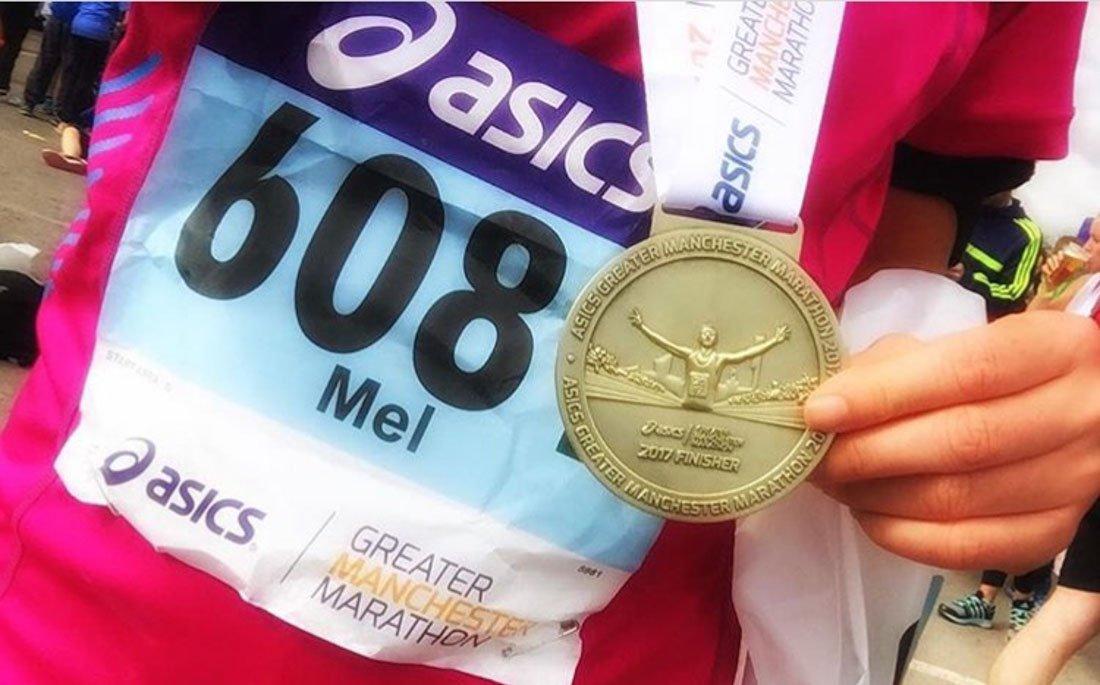 Running The Manchester Marathon 1