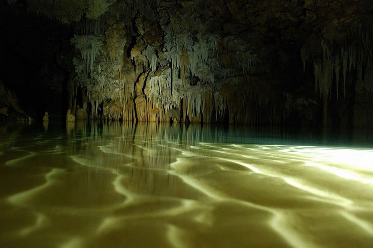 Mexico caves