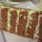 Cool Mint Chocolate Chip Cake