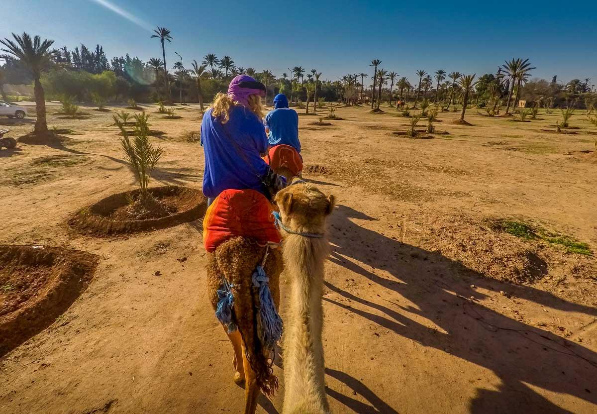 morocco-11 Marrakech by Balloon and Camel
