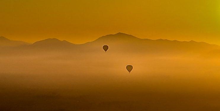 morocco-5 Marrakech by Balloon and Camel