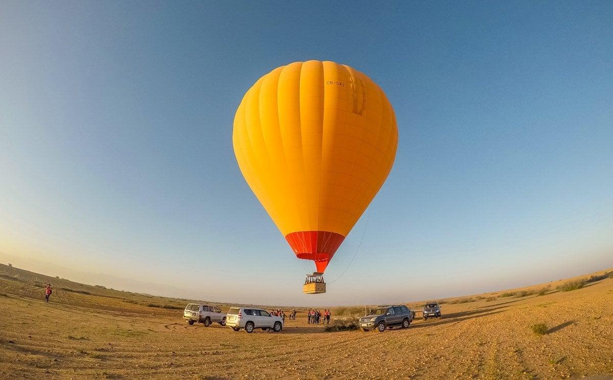 morocco-8 Marrakech by Balloon and Camel