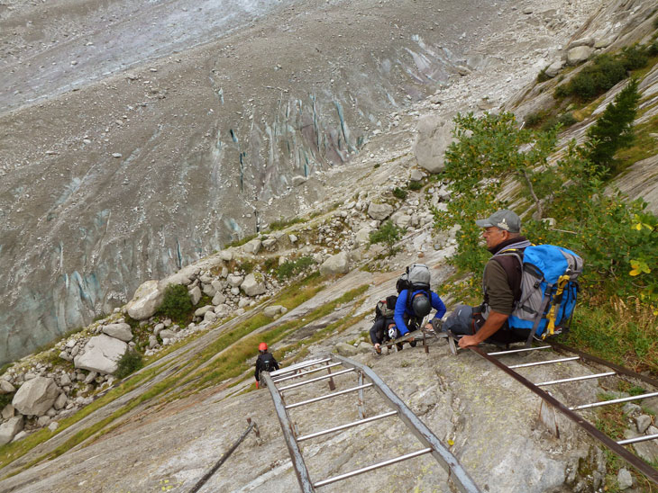 Mont Blanc Training – Down to the Ice