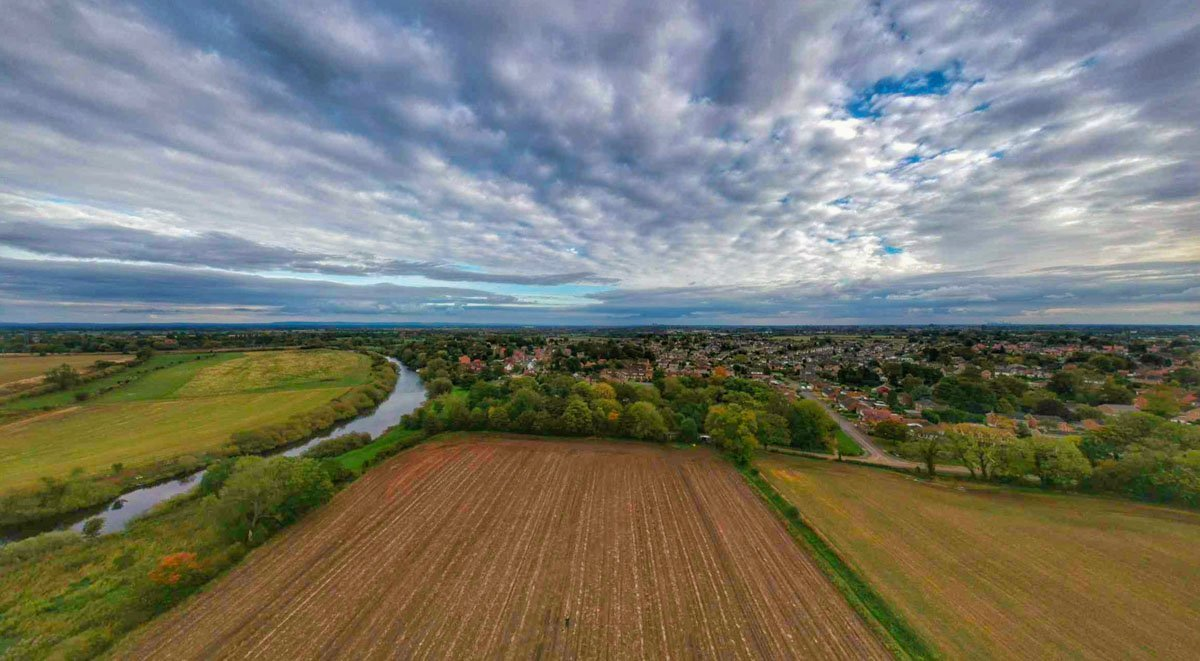 nether-poppleton-9 Scenes Above The River Ouse, Yorkshire