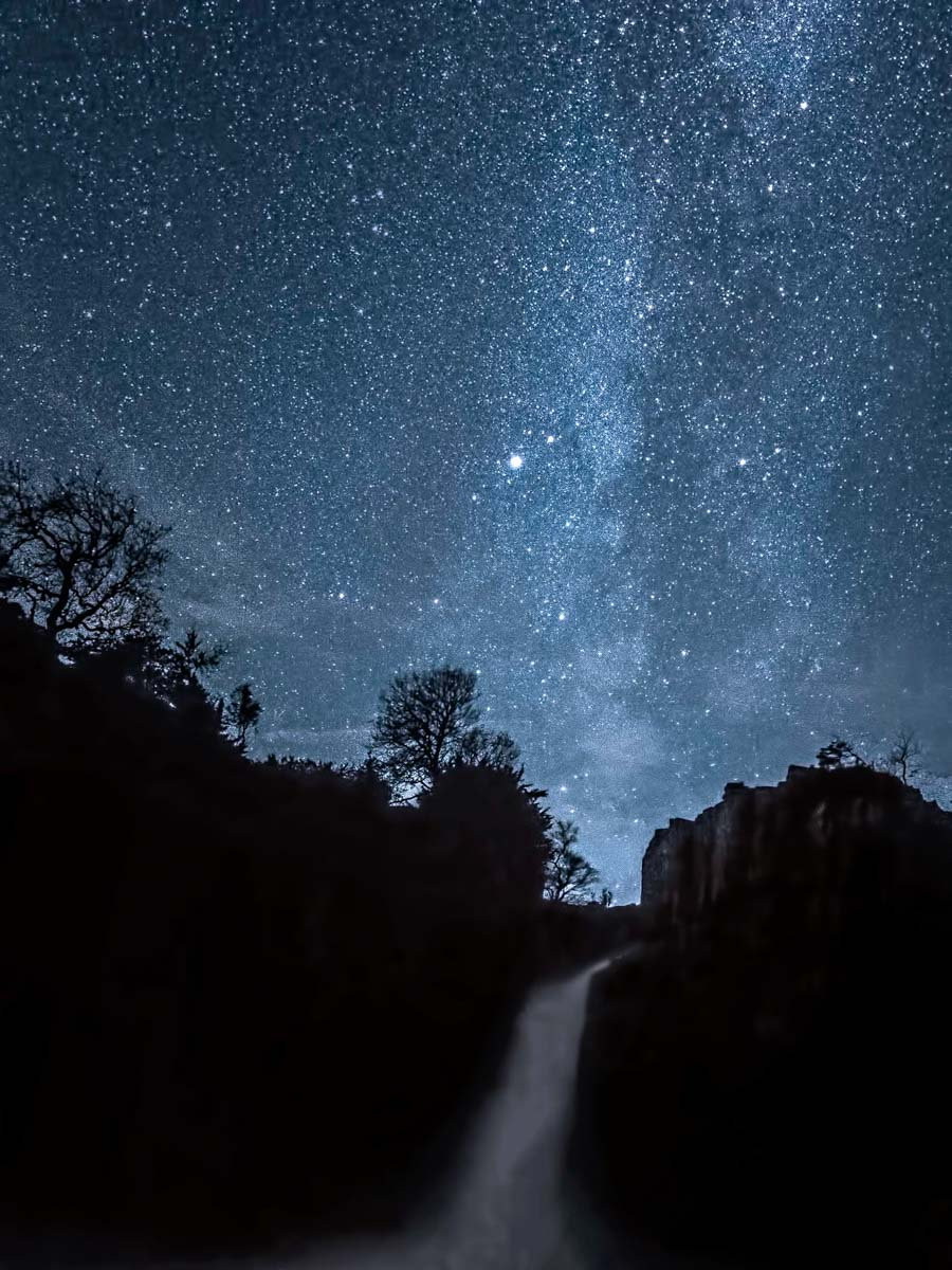 night-sky-high-force Stargazing and Photos at Low and High Force, Durham