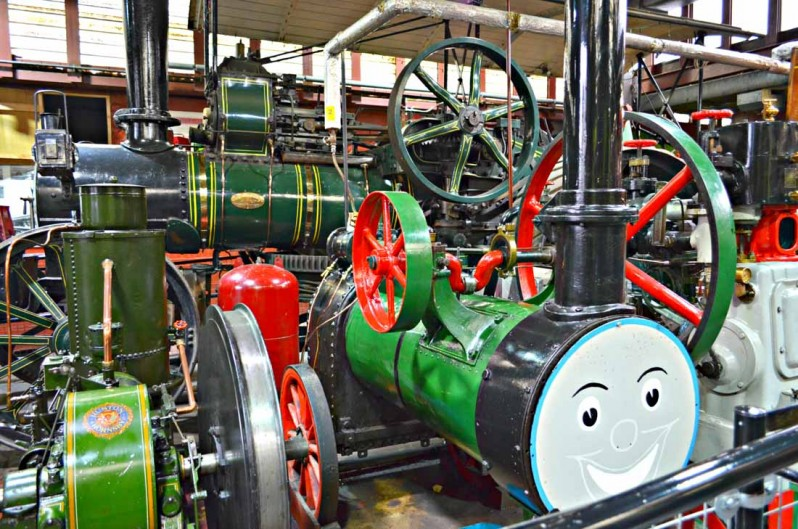 industrial museum steam engines