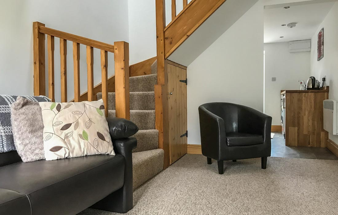 A Stay at Combe Leigh Lodge, Orton, Cumbria 1
