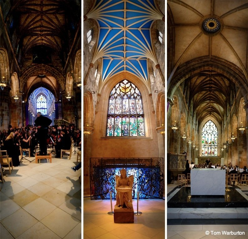 panoramas Edinburgh – Inside St Giles' Cathedral