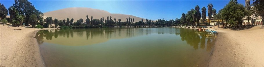 Peru, Huacachina – An oasis in the desert