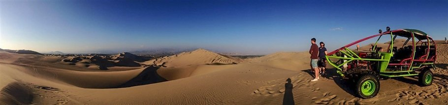 Peru, Huacachina - An oasis in the desert